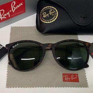 RB4171 Polarized Tortoiseshell sunglasses Unisex